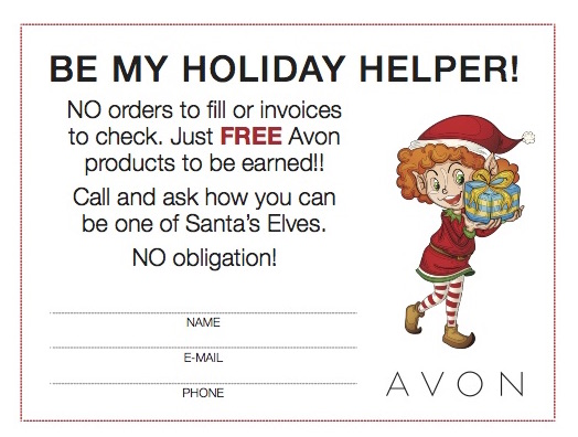 Avon Holiday Helper