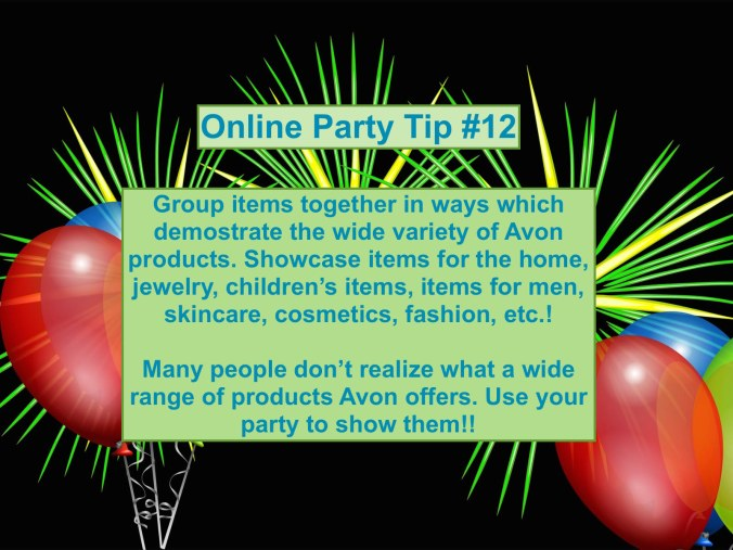 Party Tip #12