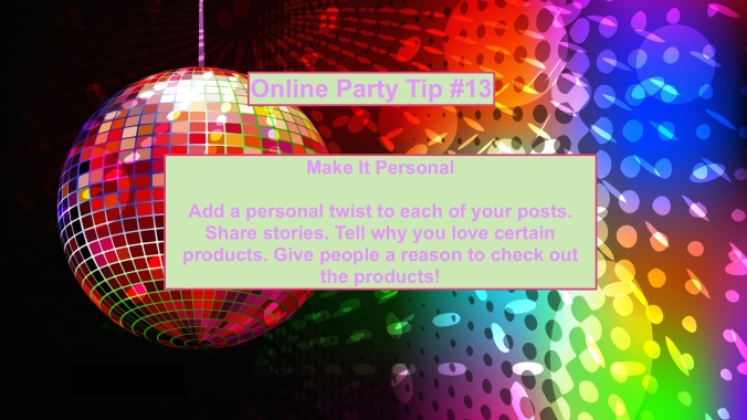 Party Tip #13