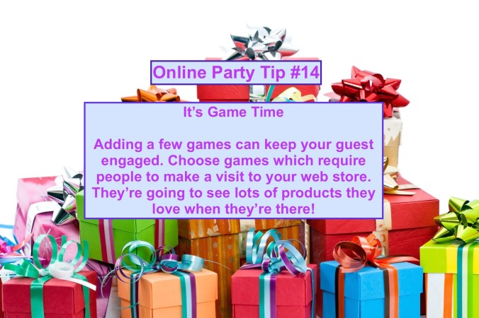 Party Tip #14