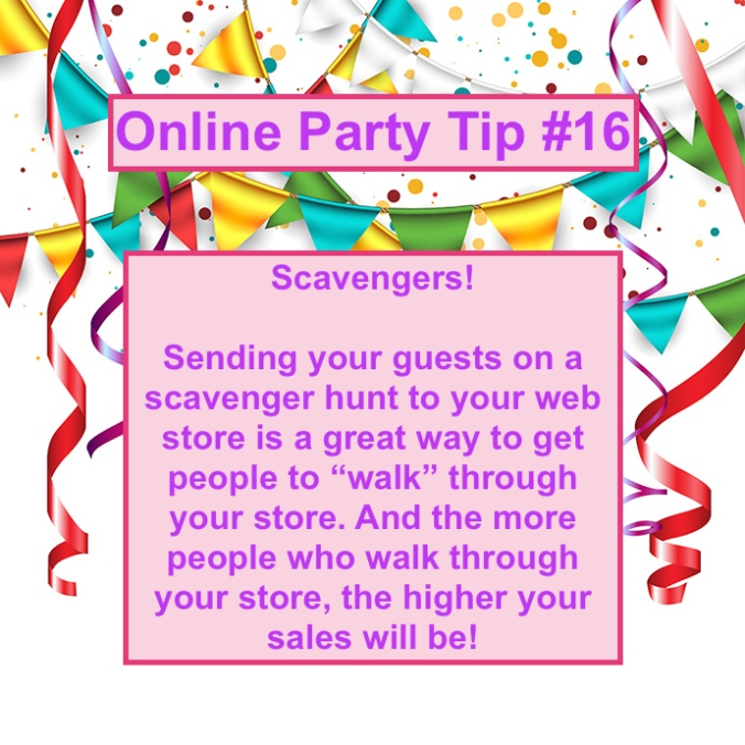 Party Tip #16