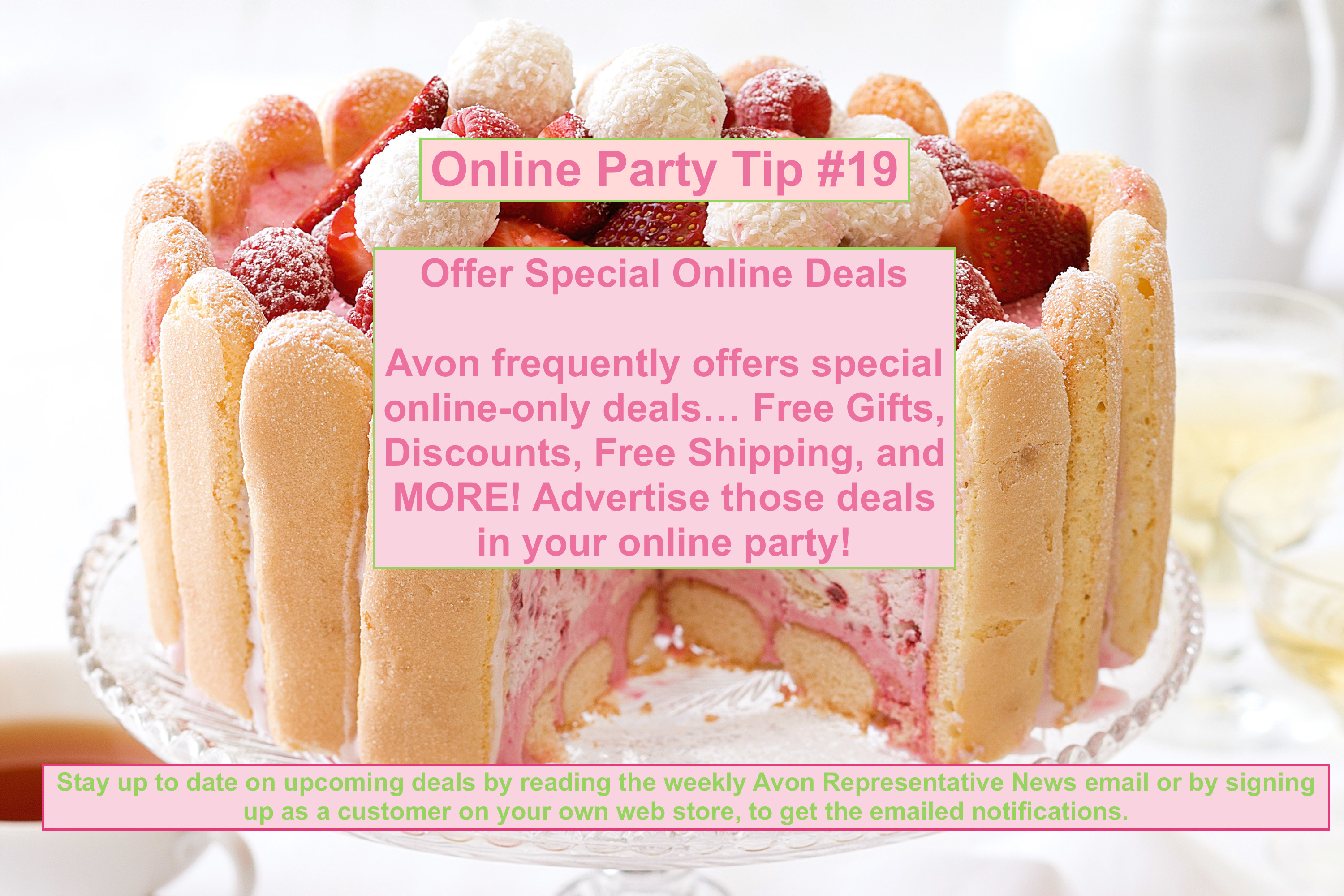 Tips for Hosting an Online Avon Party