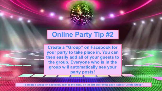 Party Tip #2