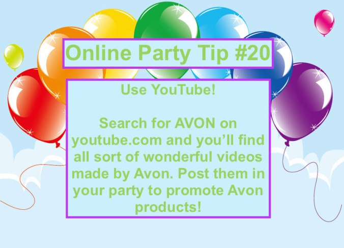 Party Tip #20