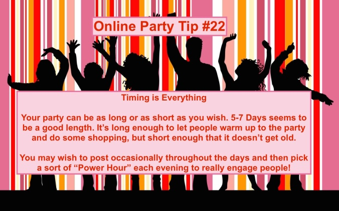 Party Tip #22