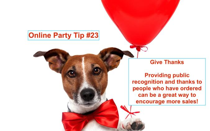 Party Tip #23