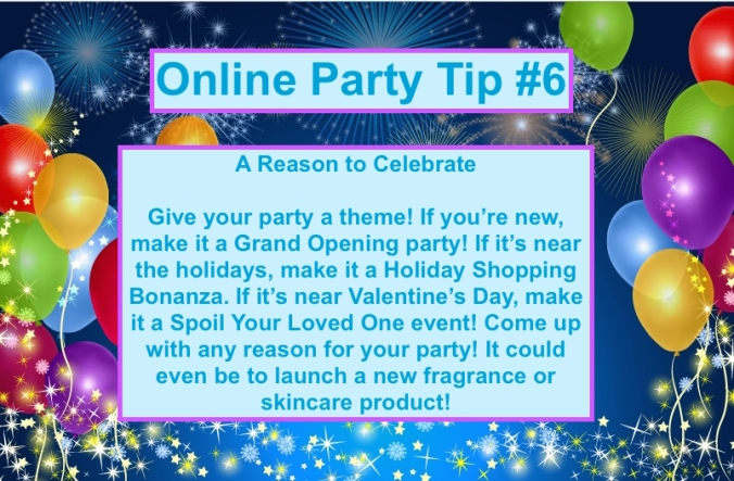 Party Tip #6