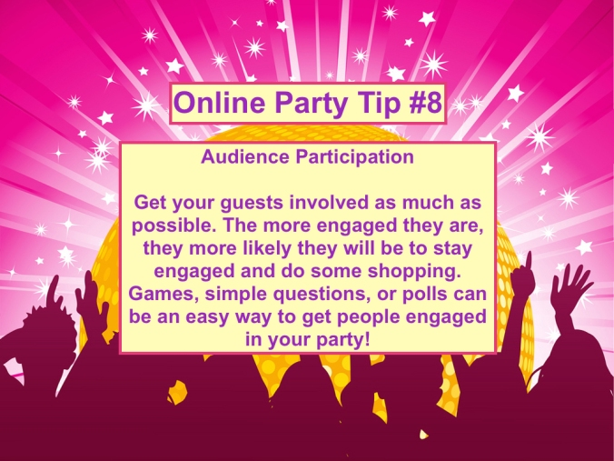 Party Tip #8
